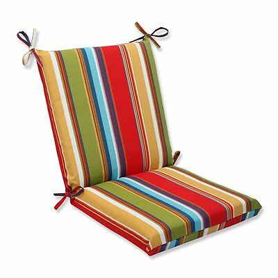 Pillow Perfect 563640 Westport Garden Squared Corners Outdoor Chair Cushion