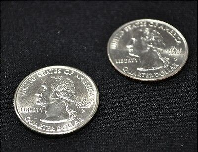 Double Sided Quarter Heads - Two headed coin - Made from Real Quarters ☆☆☆☆☆