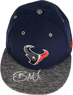 Braxton Miller Houston Texans Autographed New Era 2016 Draft Day Cap
