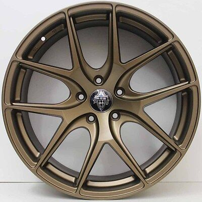 20 inch GENUINE HRS HRE STYLE ALLOY WHEELS SUIT BMW 3 SERIES