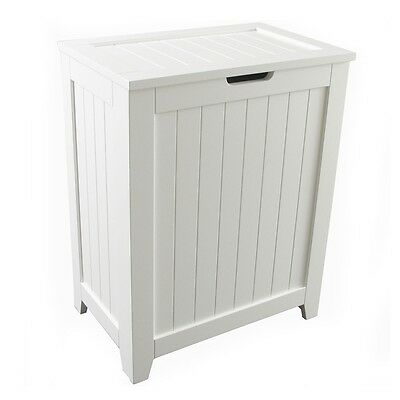 Redmon 5220-WH KD Contemporary Country Hamper