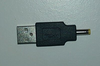 Aquaray Male USB converter for power supply PSU. TMC adapter