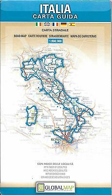 Road Map of Italy, by GlobalMap