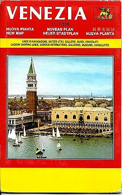 Map of Venezia (Venice), Italy, by LACarto (Italy)