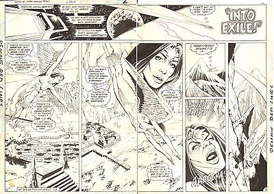 Tales of the Legion of Super-Heroes #321 DPS - Dawnstar 1985 art by Dan Jurgens