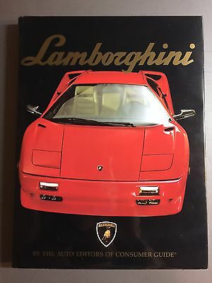 1991 Lamborghini DELUXE HARDCOVER Book by Consumer Guide - RARE!! Awesome L@@K