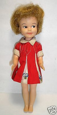 1963-1970 Deluxe Reading Corporation Penny Brite Doll in Original Dress