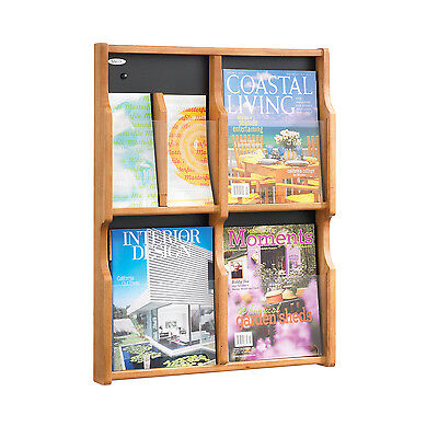 Safco 5704MO Expose™ 4 Magazine / 8 Pamphlet Display