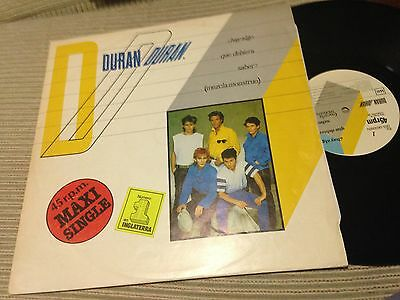 "Duran Duran - Spanish 12"" Maxi Spain Emi 83 Is There Something I Should Know"