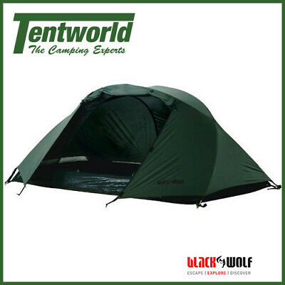 BlackWolf Stealth Mesh Olive - 2 Person Hiking Tent