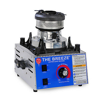 Cotton Candy Machine Maker Gold Medal Breeze 3030-00-001 Ez Kleen Ul Sanitation