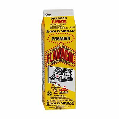 GOLD MEDAL 2500 Premier FLAVACOL Salt FOR POPCORN 1cs