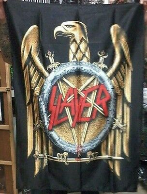 SLAYER Decade of Aggression FLAG CLOTH POSTER TAPESTRY BANNER CD Thrash Metal