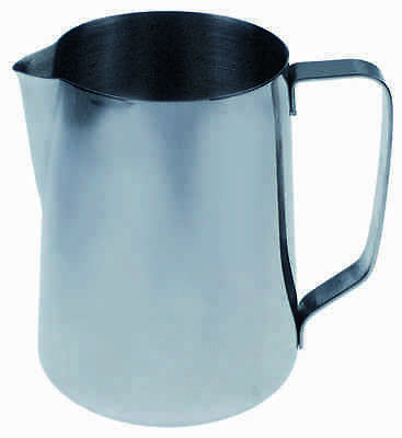 Milchkanne 1,5l Edelstahl | milk jug without lid capacity 1,5l stainless steel