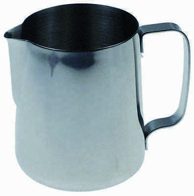 Milchkanne 0,9l Edelstahl | milk jug without lid capacity 0,9l stainless steel