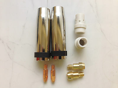 M36 Mig Welding Accessories, Shrouds, M6 Tips Etc
