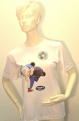 Green Hill / T-Shirt mit Judo Motiv / DAX-Sports Prof. / L.EDITION / Abverkauf %