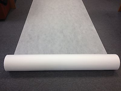 GERMINATION FABRIC, SPUNBOND, WHITE GROUND COVER 1m X 50m  WEED CONTROL MATERIAL