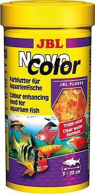 JBL NovoColor (Novo Color) Colour Food for Aquarium Fish - 250ml @ BARGAIN PRICE