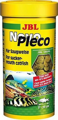 JBL NovoPleco (Novo Pleco) - Algae Wafers for Plecos - 250ml @ BARGAIN PRICE!!!