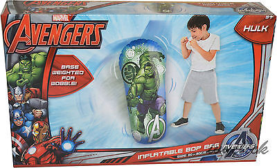Avengers Inflatable Hulk Kids Boxing Bop Bag Wobble Punch Game Toy Outdoorindoor