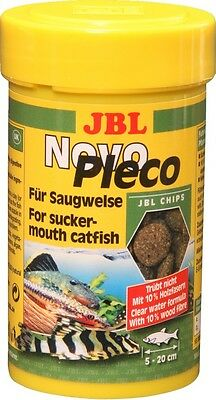 JBL NovoPleco (Novo Pleco) - Algae Wafers for Plecos - 100ml @ BARGAIN PRICE!!!