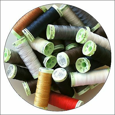 Gutermann Top Stitch Thread 30m - Range of Colours, Buy 2, 3rd @ 30% Off