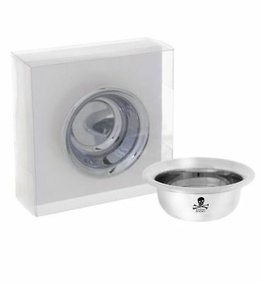 The Bluebeards Revenge Chrome Shaving Bowl (BBRMETBOWL) Stock Clearance