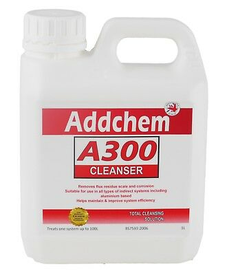 A300 Concentrated Cleanser 1L - Boiler Central Heating System Protector