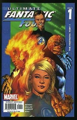 ULTIMATE FANTASTIC FOUR #1-60 NEAR MINT COMPLETE SET 2004 w/ ANNUALS #1&2