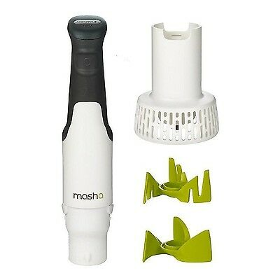 Masha Electric Potato and Vegetable Masher With Additional Aerator Blade (Jus...
