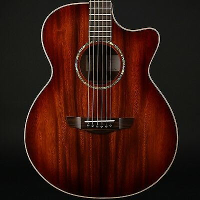 Faith Trembesi Venus Cutaway Electro Acoustic in Blood Moon Burst with Case