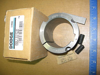 "Dodge 2525-2-1/2 Taper Lock Bushing  New in Box-  2-1/2"" Bore 2525x2-1/2 119332"