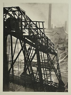 Germaine Krull Limited Edition Collotype Photo Print Fabrik in Rotterdam 1923 SW