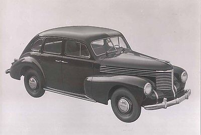 Opel Kapitan 1950 later issue (Maybe 1962) Press Photo