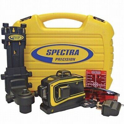 Spectra Laser LT56 Self Leveling 3-Plain Cross Line Laser Level