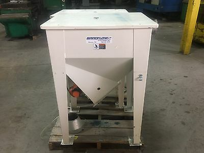 2 Used Spiroflow Systems Dry Material Loader WITH VIBIRATORS & MIXING UNIT