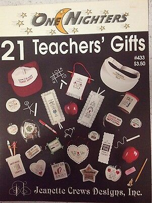 21 Teachers Gifts Cross Stitch Pattern