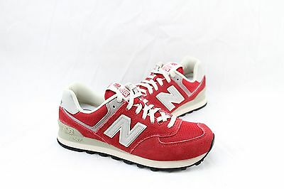 New Balancerunning Course Red & Cream Ml574Drd Mn's Sz: 7.5 Only Last One