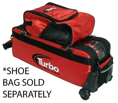 Turbo 2-In-1 3 Ball Travel Tote Roller Bowling Bag