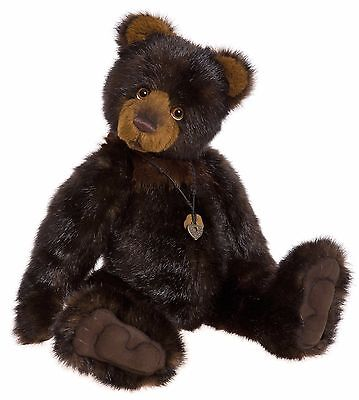 New **COLLECTABLE HANDMADE FULLY JOINTED CHARLIE BEAR ~ FRANK** 50cm