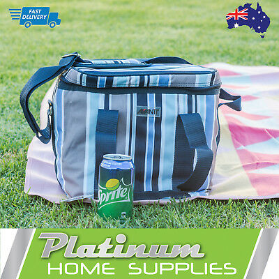 New Picnic Cooler Bag 12 Can Lunch Wine Insulated Collapsible Chiller Softbag