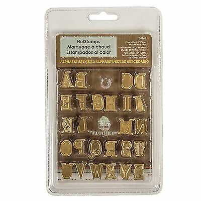 Walnut Hollow ~ Hotstamps Uppercase Alphabet Set ~ #26162 ~ BrandNew In Package