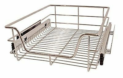 Munchen Pull Out High Grade Stainless Steel Chrome Finished Basket On Full Ex...