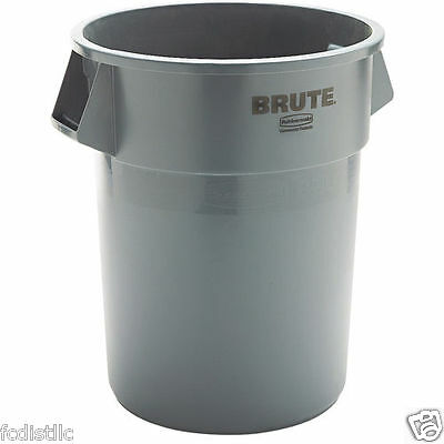 Rubbermaid Brute Trash Can Gray 55 gal RCP 265500GY