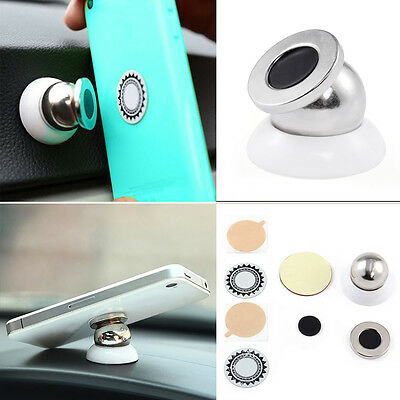 360°Magnetic Sticker Car Dashboard Mount Holder Stand for Mobile Cell Phones GPS