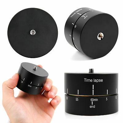 Rotating 360 Degrees Time Lapse Tripod Adapter for Samsung Gear 360 Camera