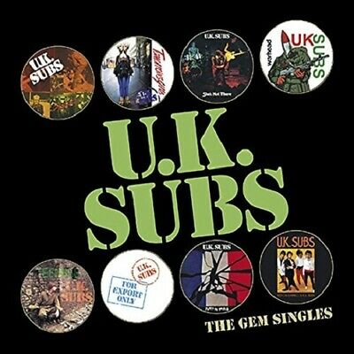 "UK Subs The Gem Singles RSD 8 x 7"" vinyl picture disc set NEW/SEALED"