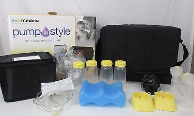 Medela Pump In Style ORIGINAL  DOUBLE Breastpump with Accessories