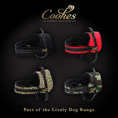 COOKES® Adjustable Soft Padded Non Pull Dog Harness Vest - Small Medium Large